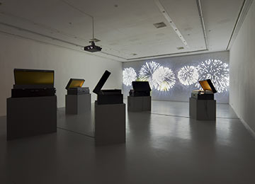stories from the suitcase, installation view
