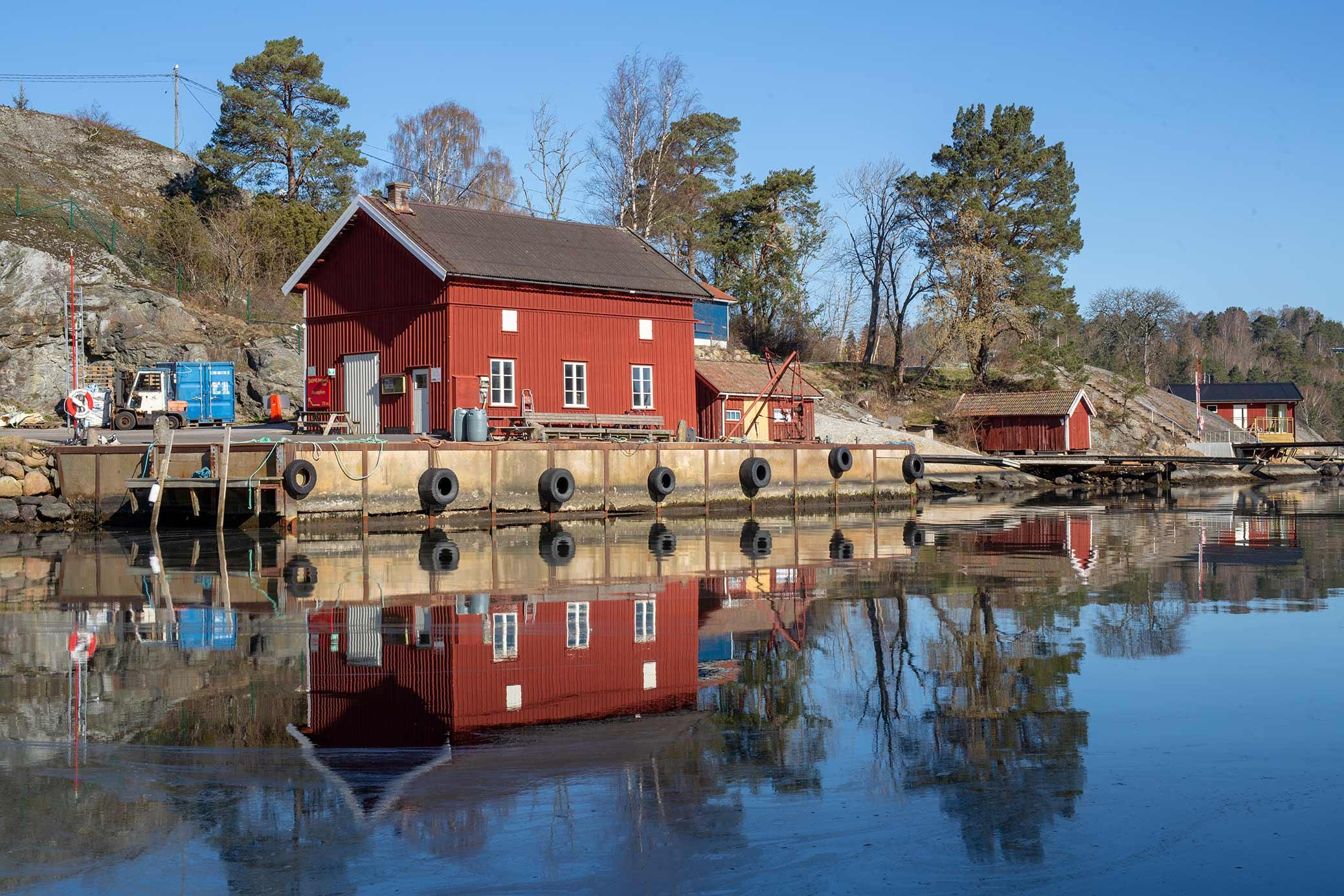 Harbour Store House, Slussen, Orust, Sweden.