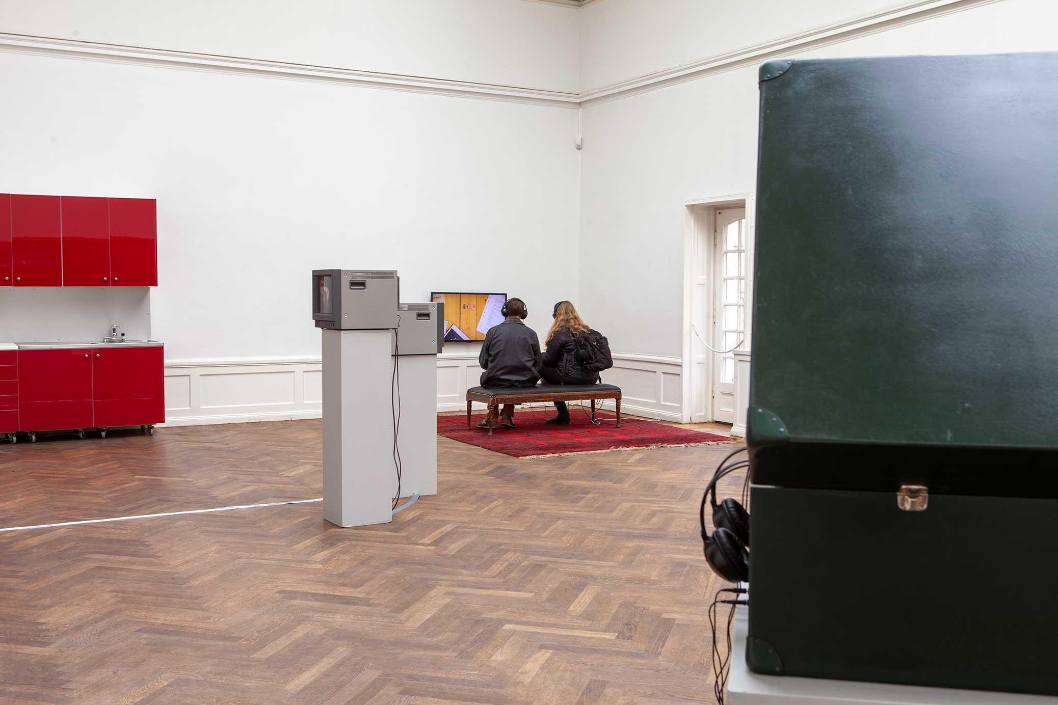 I huvudet på Björn Perborg, utställning på Konstnärshuset.